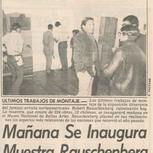 El Mercurio 16 julio 1985