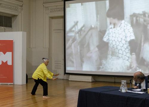 Happening Carmen Beuchat - Raúl Zurita
